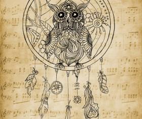 Dream Owl Photoshop Brushes