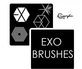 Exo Photoshop Brushes