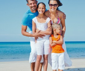 Family vacation tourism Stock Photo 02