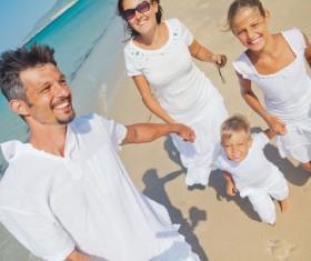 Family vacation tourism Stock Photo 03