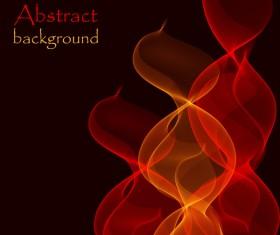 Fire wave background vectors