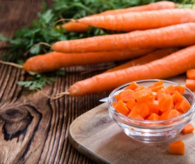 Fresh carrots Stock Photo 04
