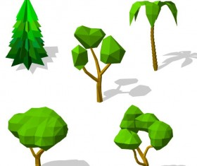 Geometry shape tree vectors 01