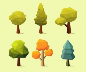 Geometry shape tree vectors 03