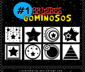 Gominosos Photoshop Brushes
