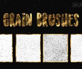 Grain Photoshop Brushes