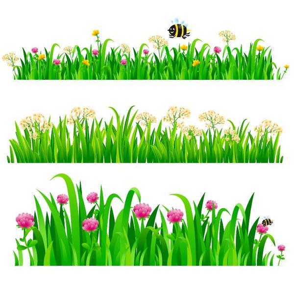 grass border vectors illustration free download rh freedesignfile com grass vector png grass vector free download