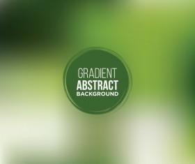 Green gradient background vectors