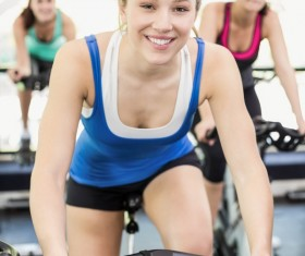 Gym fitness girl Stock Photo 07