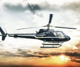 Helicopter Stock Photo 02