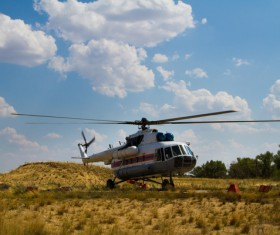 Helicopter Stock Photo 04