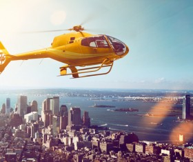 Helicopter Stock Photo 05