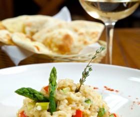 Italian risotto Stock Photo 02