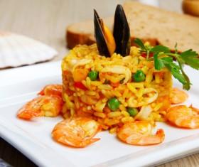 Italian risotto Stock Photo 03