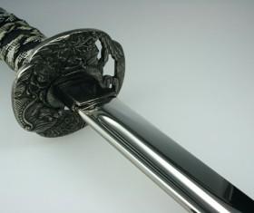 Japanese knife Stock Photo 04