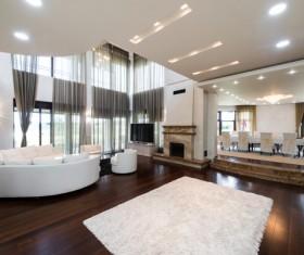 Luxury Living room Stock Photo 03