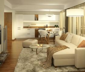Luxury Living room Stock Photo 05