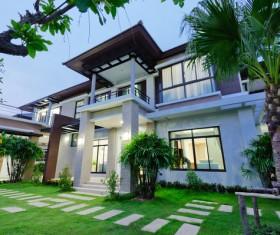 Luxury house Stock Photo 04