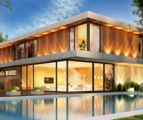 Luxury house Stock Photo 05