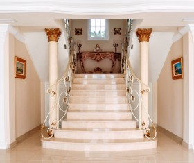 Luxury interior in a classic style Stock Photo 06