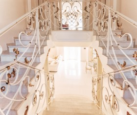 Luxury interior in a classic style Stock Photo 07