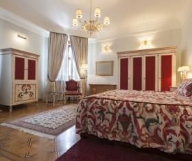 Luxury simple bedroom Stock Photo 04