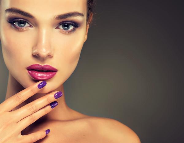 Makeup woman Stock Photo 02