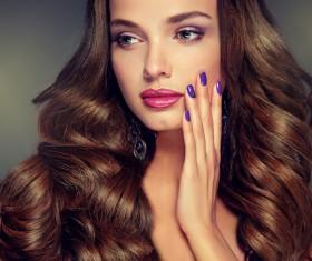 Makeup woman Stock Photo 03