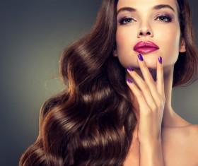 Makeup woman Stock Photo 04