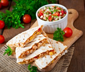 Mexican fast food Stock Photo 03
