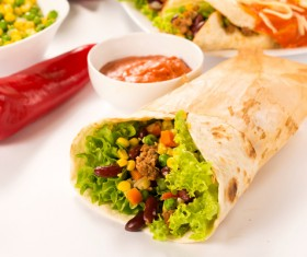 Mexican fast food Stock Photo 04