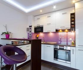 Modern simple Open kitchen Stock Photo 01