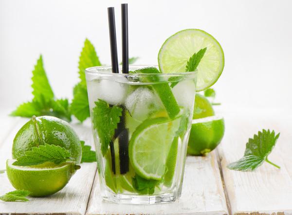Mojito Cocktail Stock Photo 03