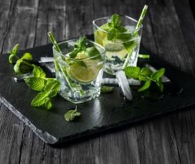 Mojito Cocktail Stock Photo 05