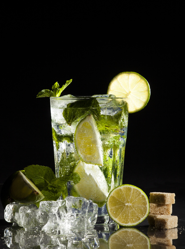Mojito Cocktail Stock Photo 06