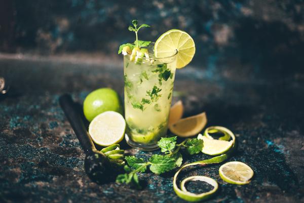 Mojito Cocktail Stock Photo 07