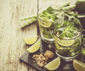 Mojito Cocktail Stock Photo 08