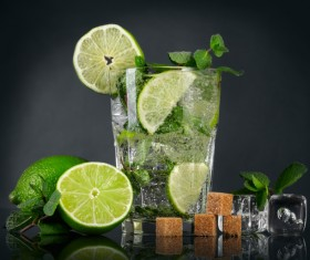 Mojito Cocktail Stock Photo 10