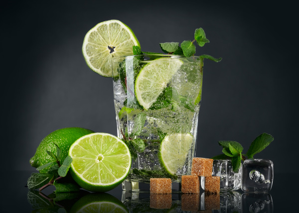 Mojito Cocktail Stock Photo 10