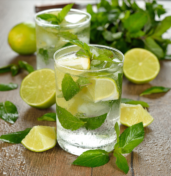 Mojito Cocktail Stock Photo 12