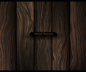 Natural oak texture wooden vector background 04