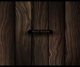 Natural oak texture wooden vector background 04