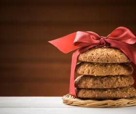 Oatmeal cookies Stock Photo 01