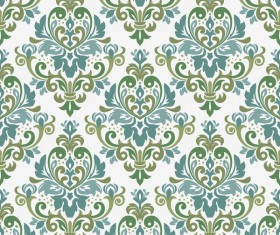 Ornage ornament damask pattern seamless vector 08