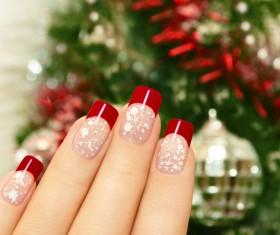 Patch nail art Stock Photo 01