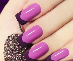 Patch nail art Stock Photo 02