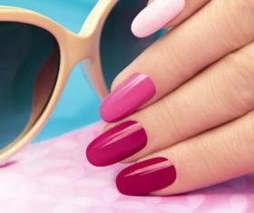 Patch nail art Stock Photo 04
