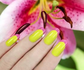 Patch nail art Stock Photo 05
