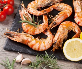 Seafood grill Stock Photo 06