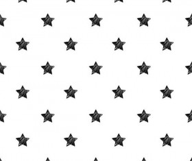 Seamless star pattern vector material 02